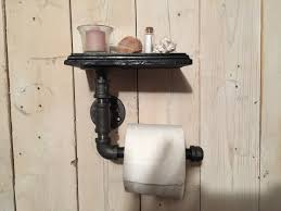 toilet paper shelf industrial pipe toilet paper holder with shelf pipeworkpieces
