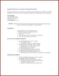 impressive resume templates for recent college graduates with