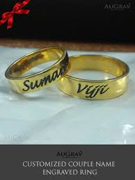 name ring gold name ring gallery augrav personalized platinum gold
