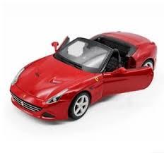 california model car bburago 1 18 california diecast model open sports car