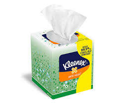 kleenex anti viral tissues