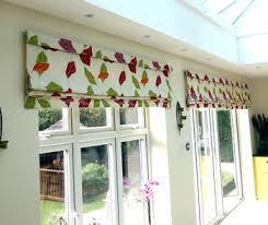 Window Blinds Patio Doors Floral Roller Blinds Multi Leaf Blackout Roller Blinds White