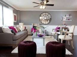 grey walls color accents living room with grey wall colors and purple accents colors that
