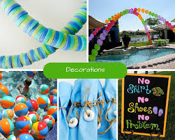 Summer Party Decorations Kids Pool Party Ideas Summer Party Ideas At Birthday In A Box
