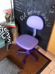 Purple Desk Chair Boring Office Chair Makeover Lovely Scrolling