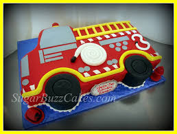 red fire truck birthday cake truck birthday cakes fire trucks