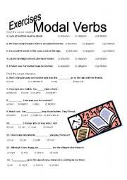 modal verbs exercises worksheet by lizia fernandes
