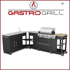 aussenküche edelstahl gastrogrill aussenküche gasgrill 4 1 corner mega outdoor küche