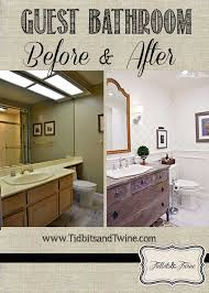Before After Bathroom Makeovers - guest bathroom makeover before u0026 after hometalk
