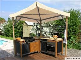 cuisine de jardin en aménager une cuisine d été conseils et idées travaux com