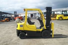 used hyster forklift container entry 2500kg lencrow brisbane
