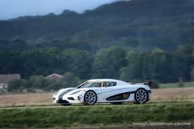 koenigsegg car blue white koenigsegg agera rs snapped testing in the wild gtspirit