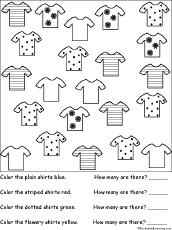 math worksheets shapes at enchantedlearning com