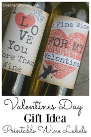 valentine u0027s day gift idea wine labels wine gift and holidays