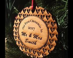 our home ornaments handmade personalized wood