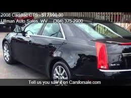 2008 cadillac cts awd review 2008 cadillac cts 3 6l di awd sedan w high feature and navig