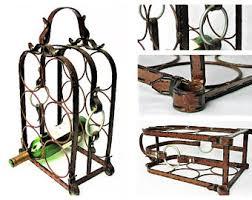 metal wine rack etsy