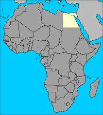 mapa de africa mapa de egipto áfrica el cairo egipto africa