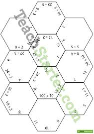 polygon puzzles division worksheets