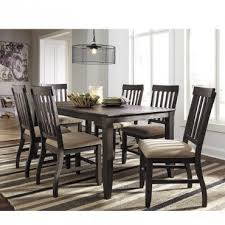 rent to own ashley dresbar 7 piece dining set rent one