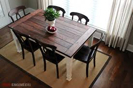 Second Hand Farmhouse Kitchen Tables - barnwood kitchen table hand crafted reclaimed wood kitchen table