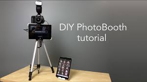 photo booth diy diy photo booth with live image