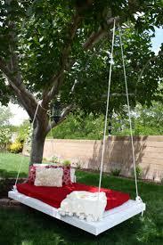backyard swing ideas christmas lights decoration