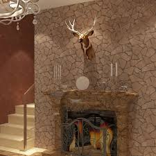 popular plastic stone wall buy cheap plastic stone wall lots from modern vintage stone rock brick 3d embossed vinyl washable wall paper dinner room hotel decor industrial