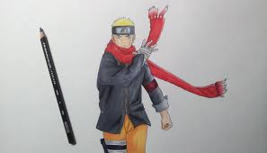 drawing naruto naruto movie