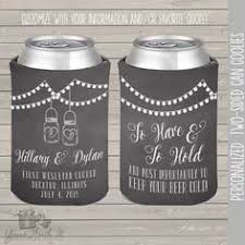 koozies for weddings to to hold barn wood rustic wedding koozie can cooler this