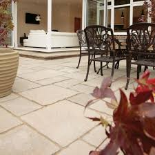 exterior fetching grey slate stone mosaic tile flooring patio