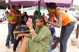 hair plaiting mali and nigeria hair braiding at wuse market cindywockner