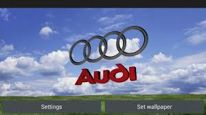 audi logo 3d audi logo live wallpaper for android free download on mobomarket