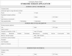 generic credit application template vendor credit application expin memberpro co