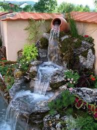 Garden Waterfall Ideas Front Door Décor Ideas Garden Waterfall Gardens And Pond