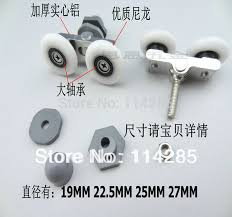 Replacement Shower Door Wheels 8pcs Wheeled Replacement Shower Door Roller Runner Wheel