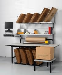 packing table with shelves packing workstations dehnco