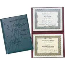 diploma holder padded junior size diploma holders 0322 ideastage promotional