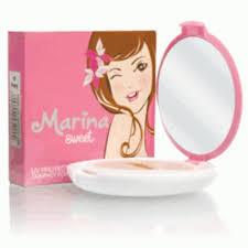 Bedak Marina marina sweet compact