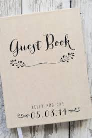 Rustic Wedding Guest Book Rustic Modern Wedding Guest Book Chic U0026 Stylish Weddings