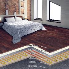 underfloor heating for laminate and timber floors