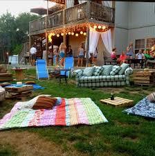 Backyard Graduation Party Ideas by 111 Best Janeen U0027s Bohemian Graduation Party Images On Pinterest