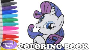 mlp rarity coloring book pages my little pony rarity coloring