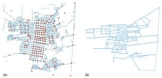 using genetic algorithms to model road networks