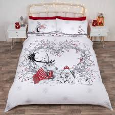catherine lansfield christmas party animals bedding range free