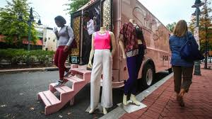 menagerie mobile boutique portland or inside a fashion truck