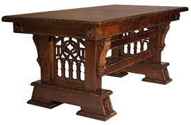 custom dining room tables victorian gothic furniture gothic