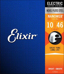 light electric guitar strings elixir strings 12052 nanoweb light electric guitar strings sweetwater
