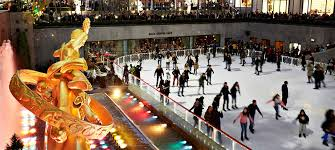 the rink at rockefeller center skating nyc