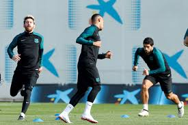 manchester city vs barcelona messi neymar and suarez all fit as